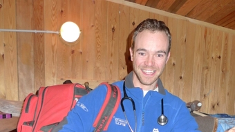 Adam Booth - our Medical Officer