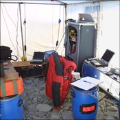 Comms tent