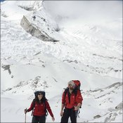 Mountain Equipment gear in action