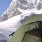 Terra Nova tent at Cho Oyu base camp