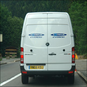 Van supplied by Mercedes
