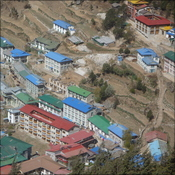 Namche, a vision of colour