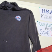 HRA merchandise sales goes towards funding their clinic in Pheriche