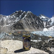 A well earned beer at Base Camp
