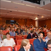 Some of the audience at the two day conference