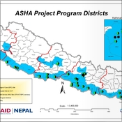 ASHA Project Programme Districts